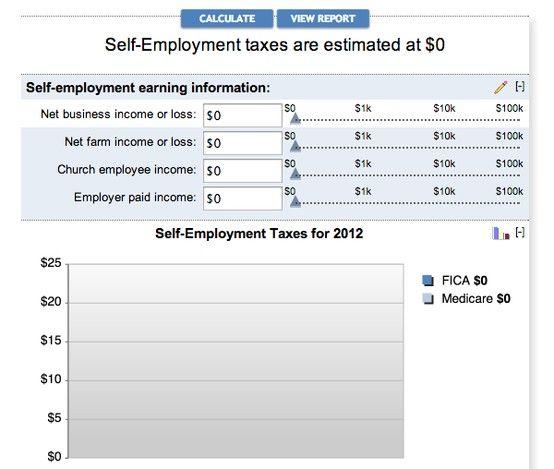 Self Employment Tax Calculator Craft Biz – Self Employed Income Calculation Worksheet