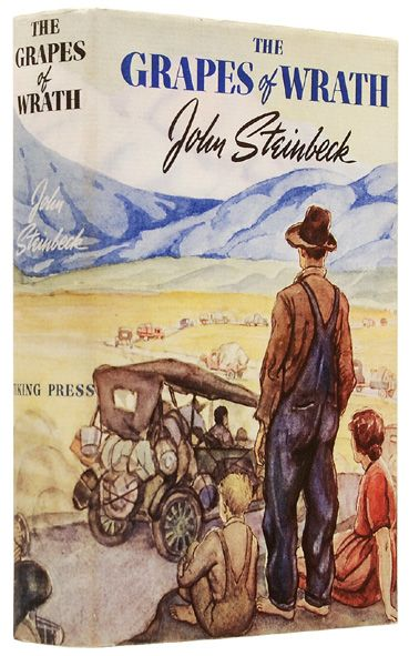 the dust bowl migration in the grapes of wrath by john steinbeck