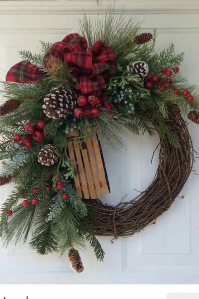 Pin by Sarka Vivianiova Kovarikova on Cristmas Pinterest Wreaths