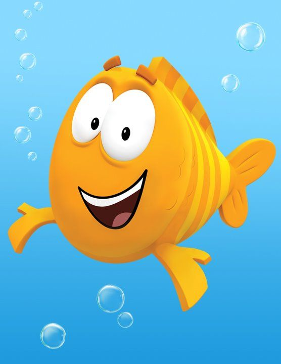 Bubble guppies bubbles and photos on pinterest for Bubble guppies fish