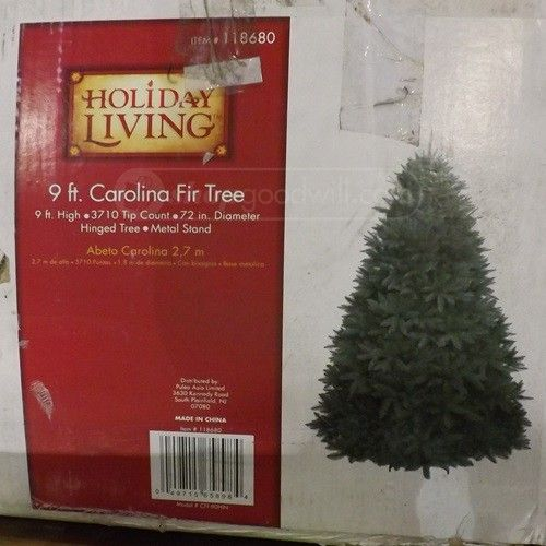 shopgoodwill com holiday living 9ft christmas tree for others pinterest 9ft christmas tree christmas tree and holidays