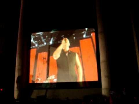 Disturbed into the fire live