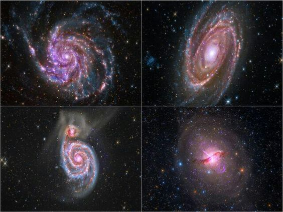 A quartet of galaxies from @Chandra Observatory data highlights pro & amateurs working together!
