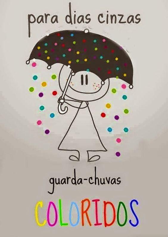 Para dias sem cor guarda-chuva de flor.PRA DIAS SEM COR GUARDA-CHUVA DE FLOR