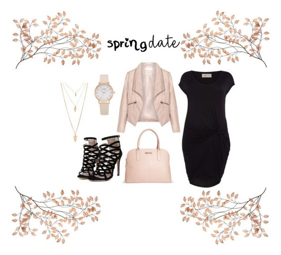 """""""Spring Date"""" by haliesmyles on Polyvore featuring Zizzi, Label Lab, Avenue and Forever 21"""