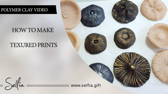 How to make different textured sheets using  Mould Makers Sculpey and na...