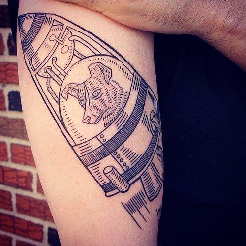 Laila Tattoo by Duke Riley
