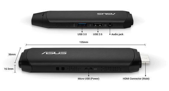 Asus VivoStick Mini Bilgisayar