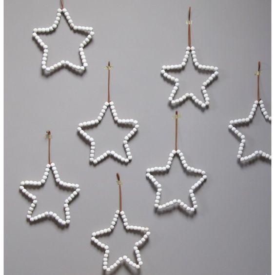 etoile en perle de bois le rep re des belettes stars pinterest chang 39 e 3 beads and diy. Black Bedroom Furniture Sets. Home Design Ideas