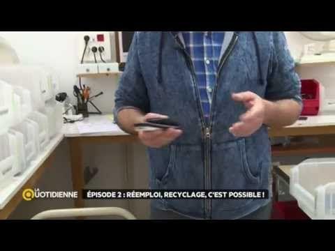Enquête : que deviennent nos déchets électroniques ? - A la une - La Quotidienne - France 5