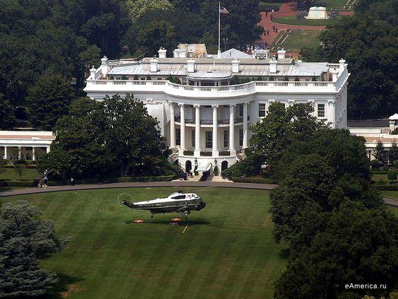 Marine One on the White House Lawn, Washington DC