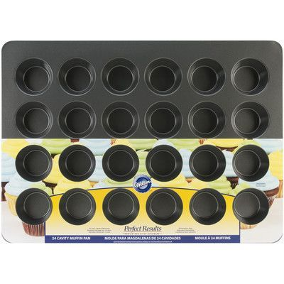 Wilton Non-Stick 24 Cup Perfect Mega Muffin Tin