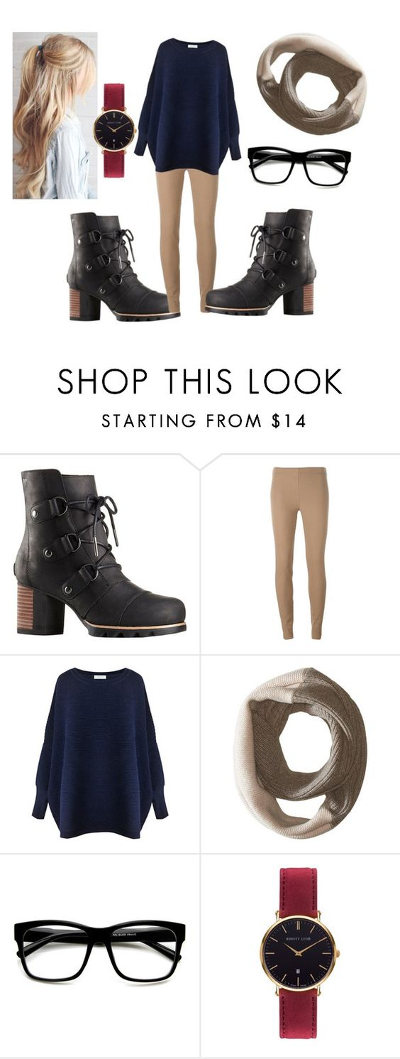"""""""Kick Up The Leaves"""" by turqoiseninja ❤ liked on Polyvore featuring SOREL, Joseph, Paisie, ZeroUV and Abbott Lyon"""