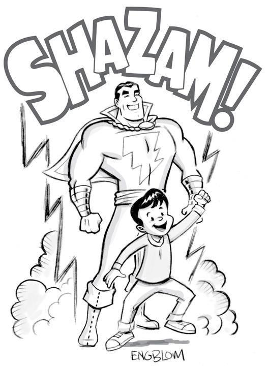 Dc Dccomics Captainmarvel Shazam Billybatson Superheroes Hero Lightning Comicwhisperer Captain Marvel Shazam Shazam Original Captain Marvel