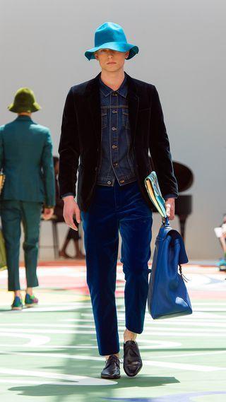 Burberry Prorsum Menswear Spring/Summer 2015 show   Burberry