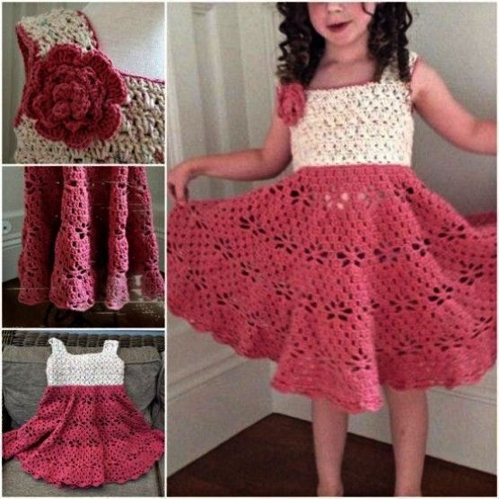 Crochet Dress Pattern For 3 Year Old Long Crochet Dress Cover Up Crochet Toddler Dress Vintage Crochet Dresses Crochet Dress Girl