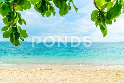 Beautiful Tropical Beach And Sea Landscape Stock Image 75659371 Tropical Beach Landscape Landscape Background