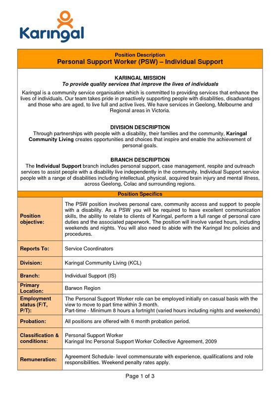 Respite Worker Cover Letter -   wwwresumecareerinfo/respite