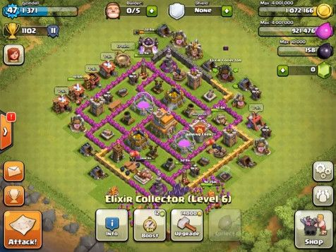 how to build a strong base in clash of clans