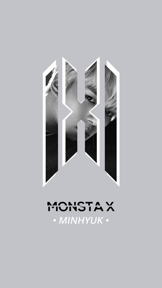 Monsta X New Official Logo Wallpaper Minhyuk Monsta X Minhyuk Monsta X Kihyun
