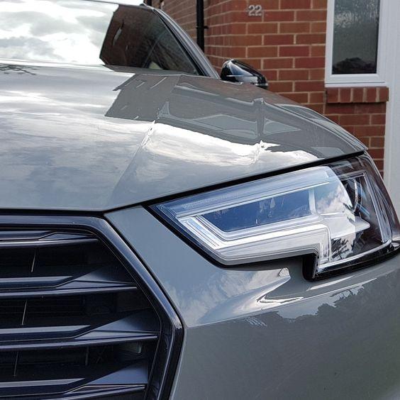Audi A4 Avant Black Edition In Quantum Grey Traumauto