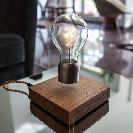 Energy-Efficient Levitating Lights