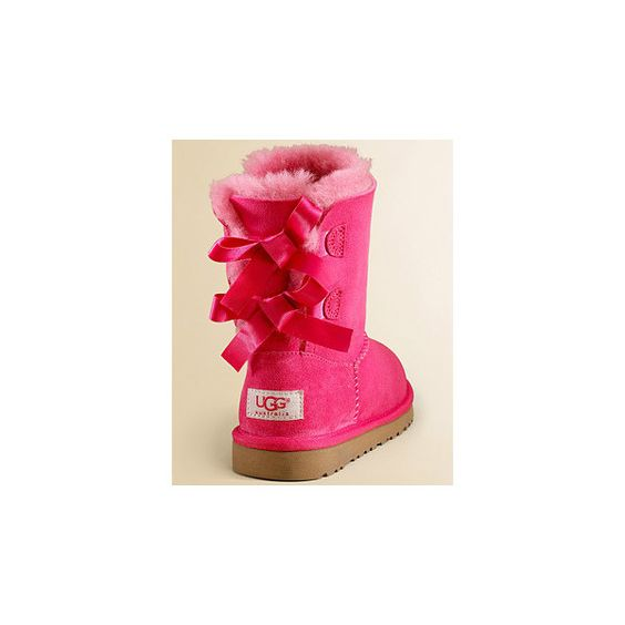 red and pink uggs