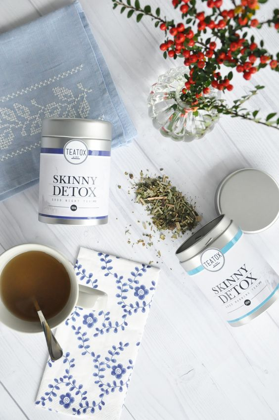 SKINNY DETOX Morning and Evening tea from TEATOX.