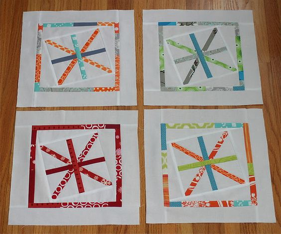 Scrappy Astericks Block Tutorial from City Home Studio  http://cityhousestudio.blogspot.com/2012/01/scrappy-asterisk-tutorial.html