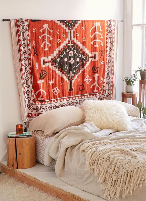 urban outfitters tapestry/head board                                                                                                                                                                                 More: