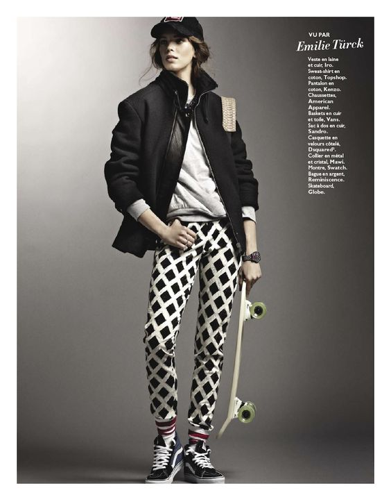 remix: olga butkiewicz by james macari for grazia france no.156 7th september 2012