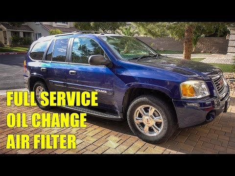 2004 Gmc Envoy Service Youtube Gmc Envoy Oil Change Oil Filter