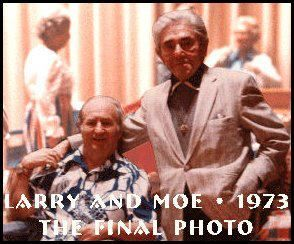 Three Stooges, Larry and Moe