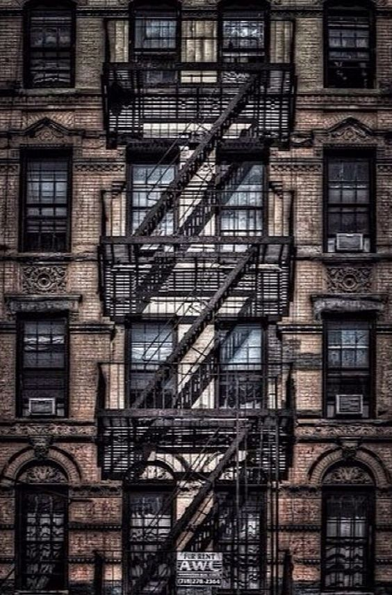 Fire Escape New York City 1940s : Shops york and a beautiful on pinterest