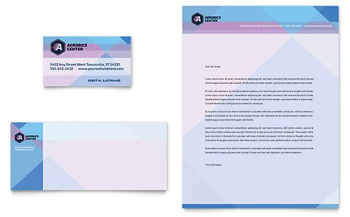Nursing School Hospital Business Card \ Letterhead Template - compliment slip template