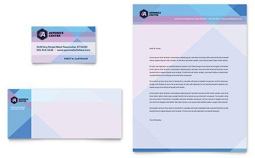 Nursing School Hospital Business Card \ Letterhead Template - compliment slip template