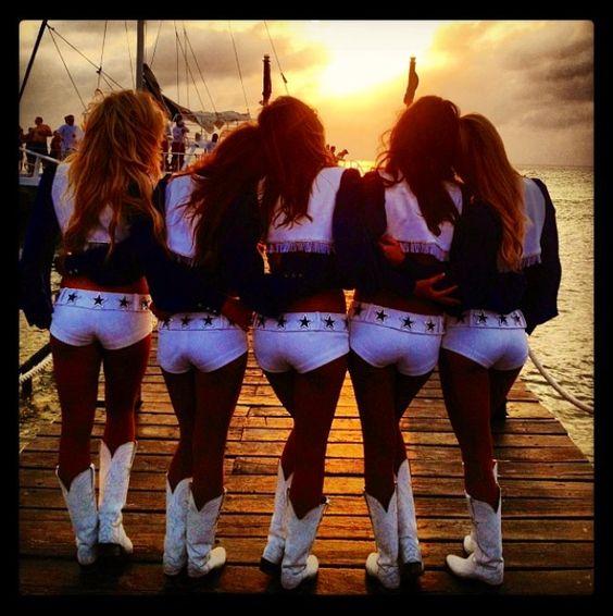 Dallas Cowboy Cheerleaders #GreatShot