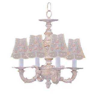 Check out the Crystorama 5124 Abbie Wrought Iron Mini Chandelier