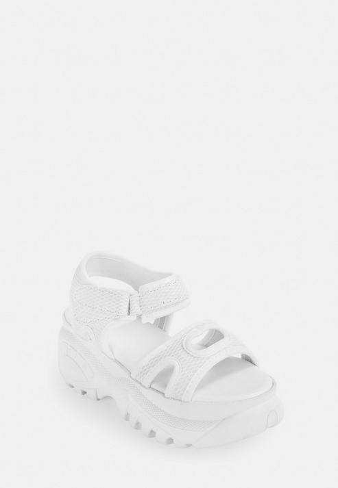 Missguided White Chunky Sole Trainer