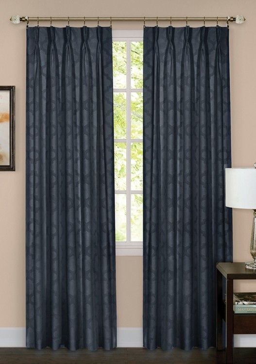 Windsor Pinch Pleat Back Tab Curtain Panel Curtain Bath Outlet