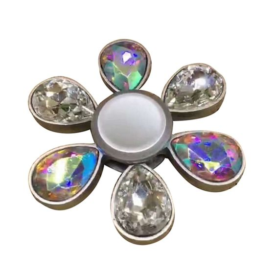 ECUBEE Diamond EDC Fidget Spinner Hand Spinner Reduce Stress Gadget