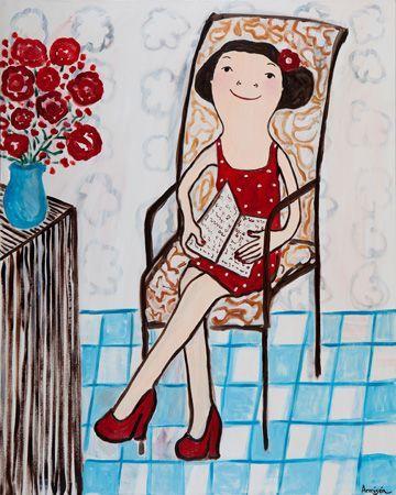 Satisfy /Contenta (ilustración de Eva Armisen)
