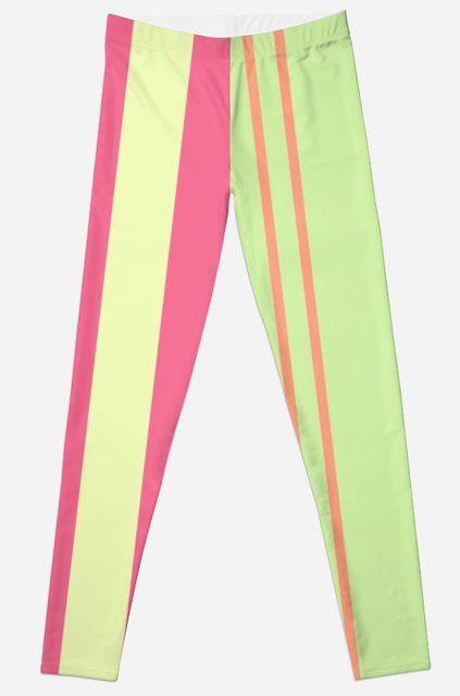 """""Summer Girl"" color design by MrN"" Leggings by mrnobody15 | Redbubble"