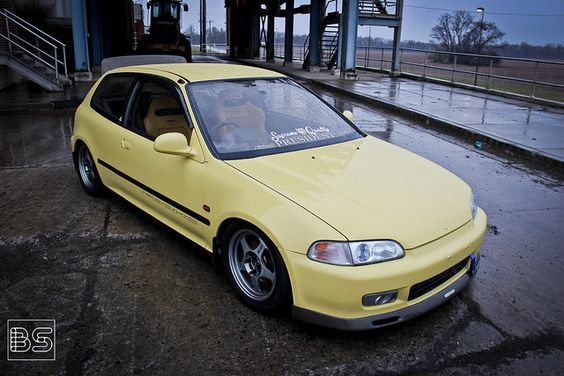 Yellow EG6 | Flickr - Photo Sharing!
