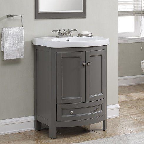 Thibeault 24 Single Bathroom Vanity Set In 2021 24 Inch Bathroom Vanity Bathroom Vanity Single Bathroom Vanity