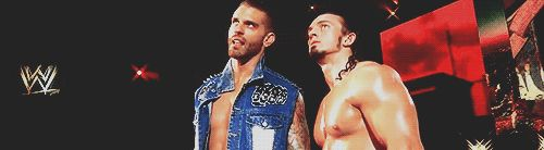 Corey Graves and Adrian Neville [Gif]