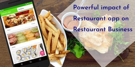 The powerful impact of restaurant app on restaurant business
