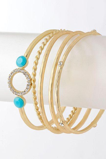 never enough turquoise / Turquoise Adin Bracelet / Emma Stine Jewelry Bracelets