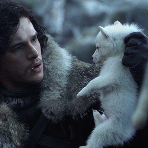 """Os atores do elenco de """"Game of Thrones"""" no primeiro e no último episódio - - Primeira aparição: """"Winter is Coming"""" (Episódio 1, Temporada 1) Última aparição: """"Oathbreaker"""" (Episódio 3, Temporada 6) - Fantasma"""