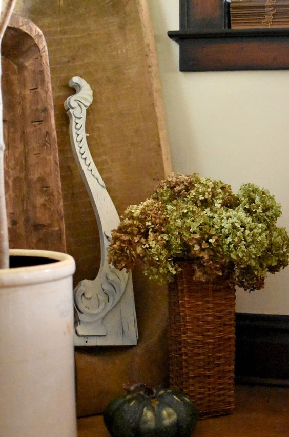 Creative Fall Decorating With Baskets